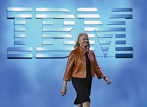 IBM總裁羅睿蘭承諾將在美國增加職位。 (Getty Images)