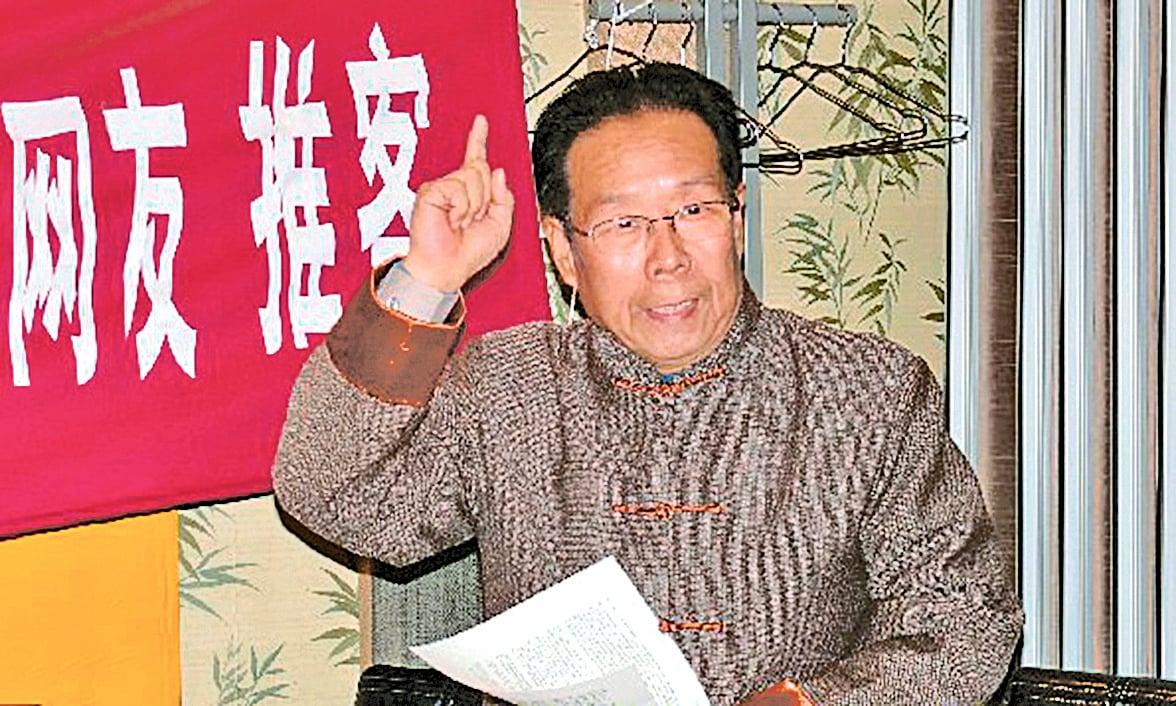 中國前軍事科學院出版社社長辛子陵檔案照。(網絡圖片)