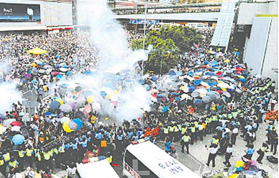 【圖片新聞】雨傘運動 港人認清中共本質