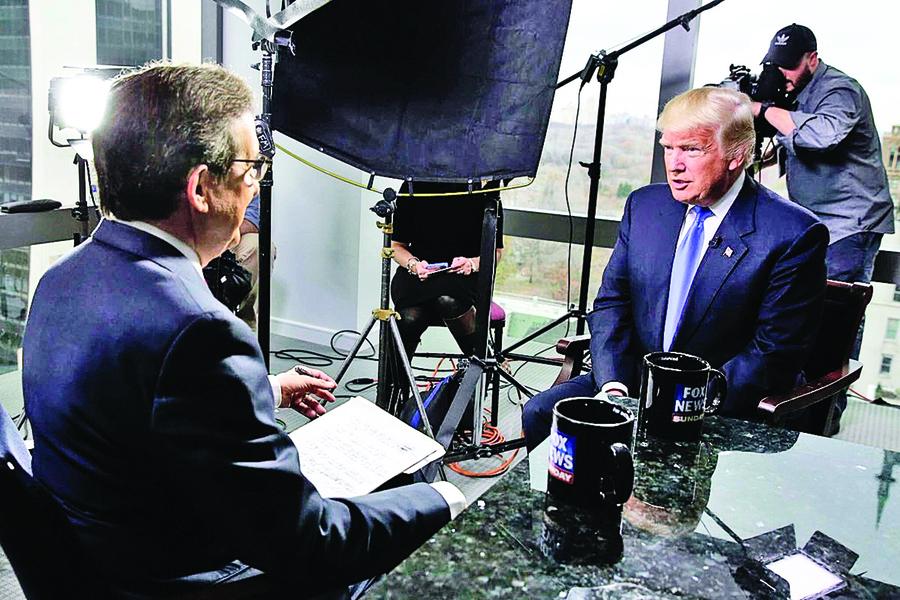 特朗普受訪 解說新政