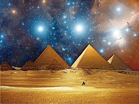 古代遺址和星宿之間有著神秘的聯繫。(網絡圖片)