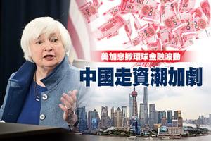 美加息掀環球金融波動 中國走資潮加劇