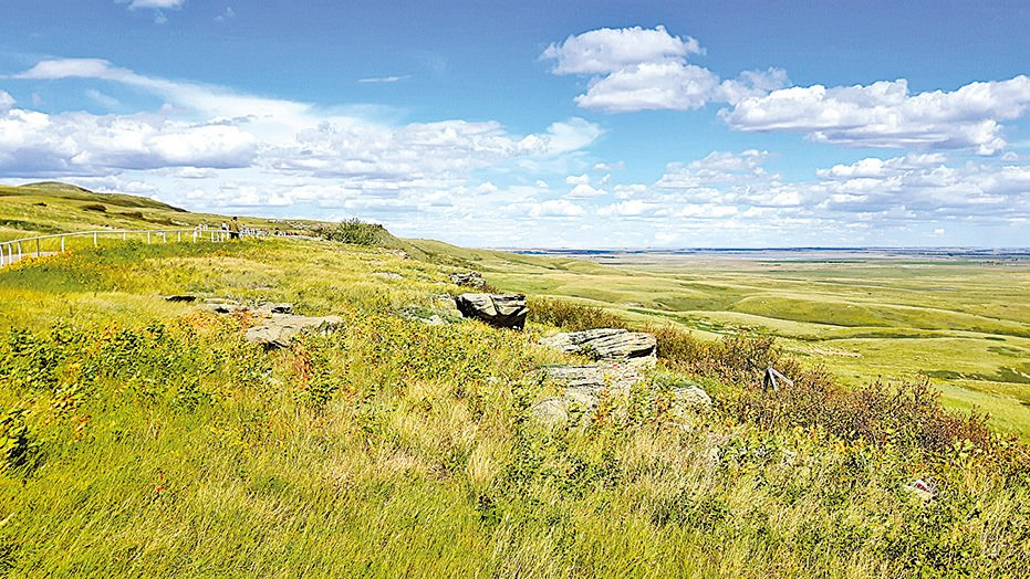 大草原上一望無際的曠野。(圖/Sunny)