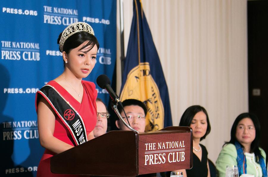 世姐組織取悅中共 加拿大選美皇后遭噤聲