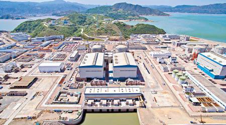 圖為福建寧德核電廠。(網絡圖片)