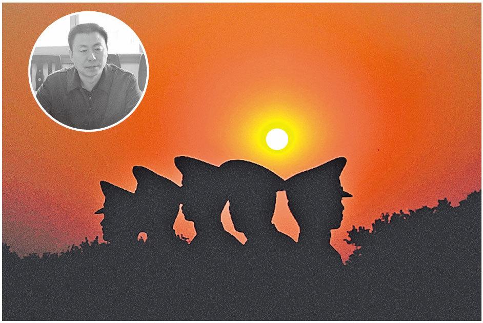 中共司法部政治部主任盧恩光被查落馬。(合成圖片)