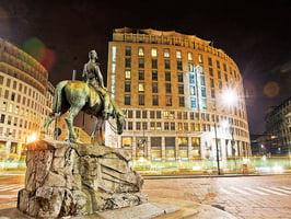 意大利旅行之酒店體驗 米蘭市中心的夢想之島 騎士酒店