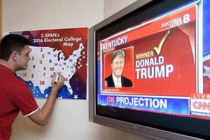 選舉人團周一投票 全美再次聚焦特朗普