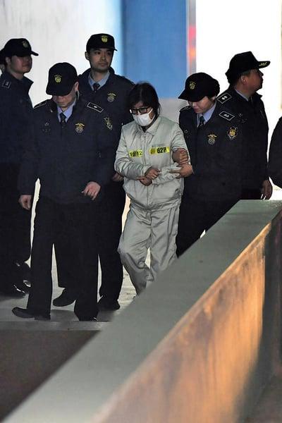 南韓崔順實出庭不認罪