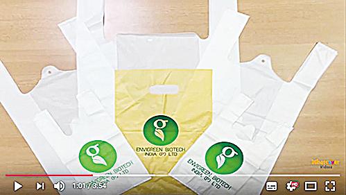印度公司發明可食用「塑膠袋」