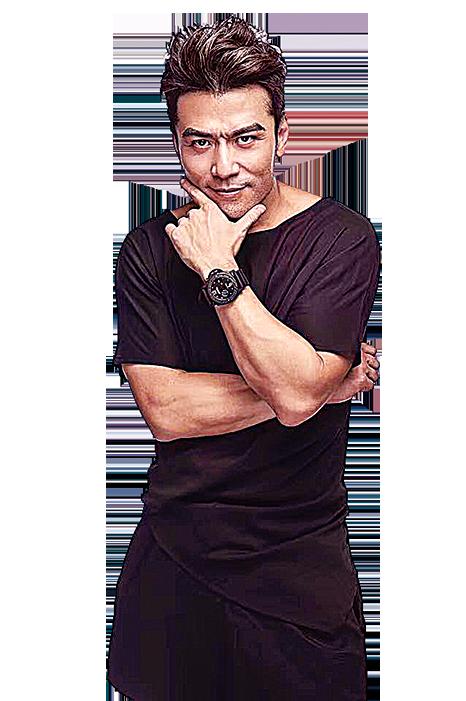 洪天明打算和好友唐文龍合資眼鏡品牌。(唐文龍facebook)