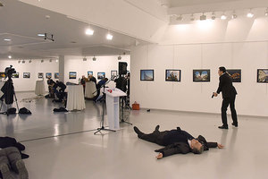 俄國大使被殺案 美國迅速回應願助調查
