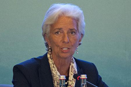 法國法院裁定,國際貨幣基金組織(IMF)總裁克里斯蒂娜・拉加德(Christine Lagarde)擔任法國經濟部長期間,在處理一樁長期欺詐案時玩忽職守。(Ng Han Guan-Pool/Getty Images)