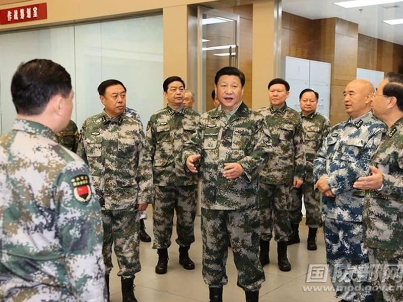 習近平視察南部陸軍 談軍權及肅清郭徐流毒