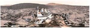 NASA發佈360度火星視頻 1天近50萬人次點閱
