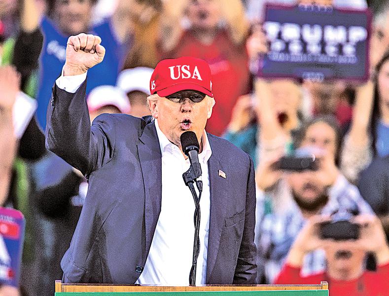 特朗普304張選舉人票 正式當選美總統