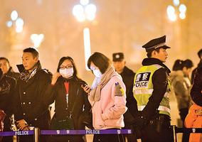 超強霧霾襲中國「口罩」成敏感詞