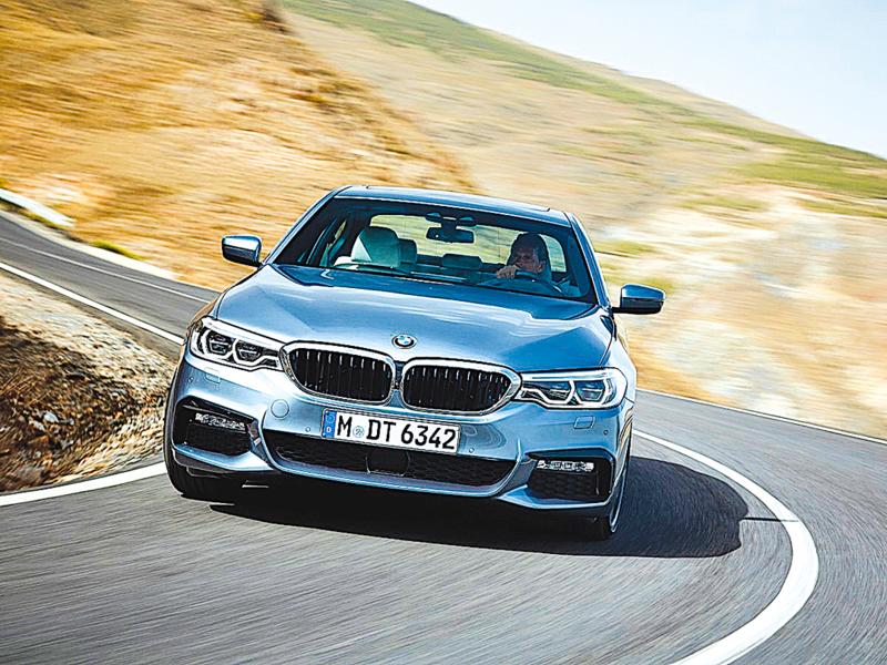 BMW全新5系列底特律車展正式登陸北美