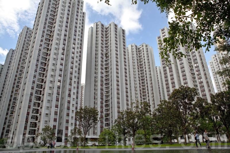 政府昨日公佈《長遠房屋策略2016年周年進度報告》,下一個10年期的總房屋供應目標將維持為46萬個單位。(大紀元資料圖片)