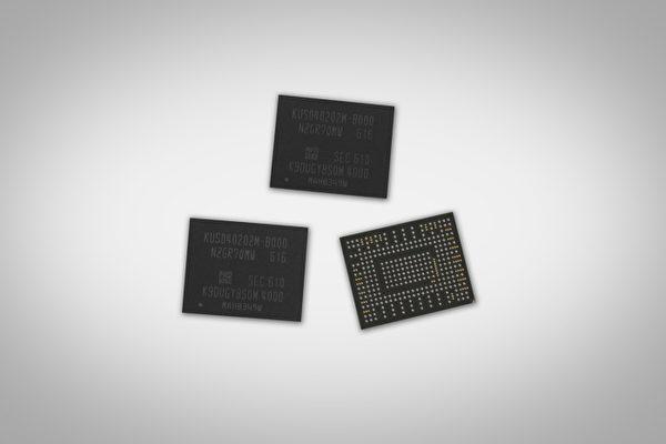 三星(Samsung)正式宣佈開始量產重量僅有1公克的固態硬碟,容量最大可達512GB。(三星官網擷圖)