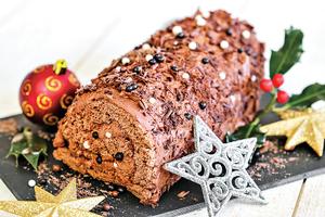 【法國傳統聖誕甜點】劈柴蛋糕