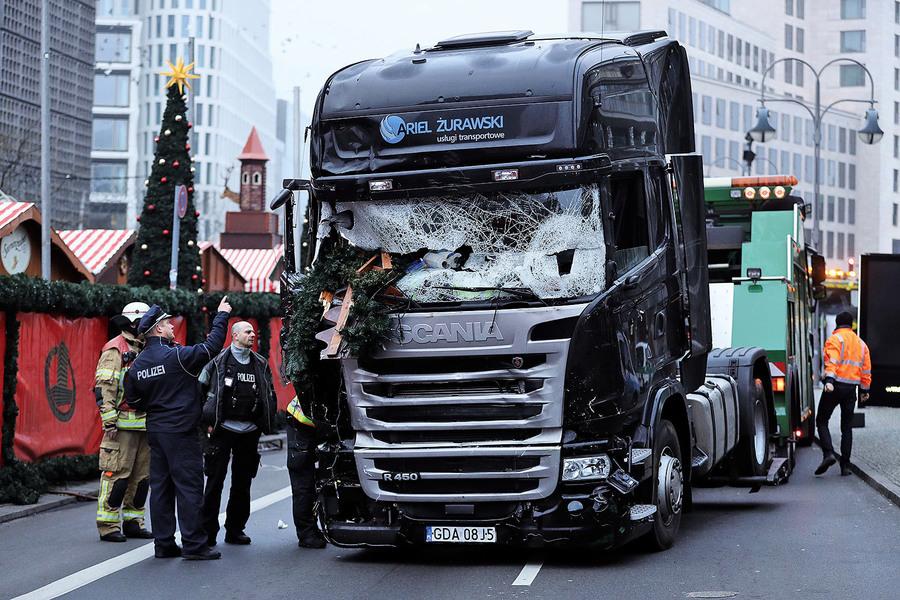 柏林恐攻IS聲稱犯案