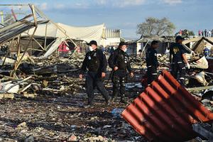 墨西哥煙火市場爆炸 31死72傷