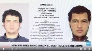 【柏林恐襲】突尼斯疑犯浮現 歐洲大搜捕