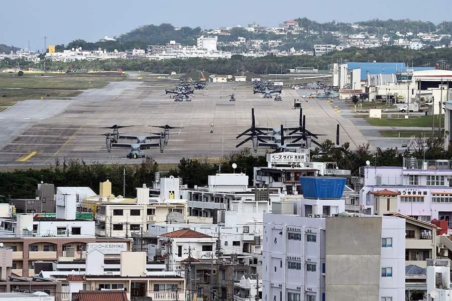 拖了二十年 美國歸還日本近萬英畝沖繩島土地