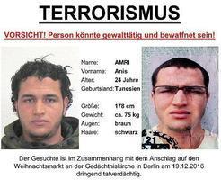 【柏林恐襲】德國十萬歐元通緝突尼西亞難民