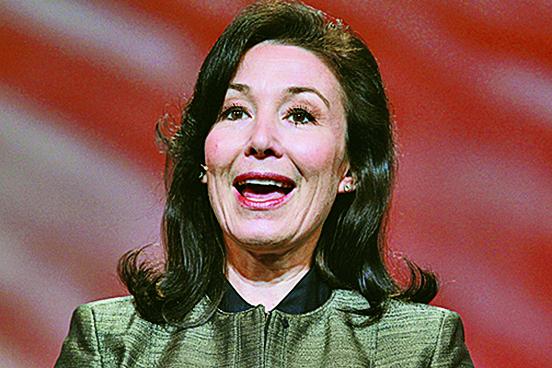 甲骨文(Oracle)執行長卡茲是2016年全美薪酬最高的女性主管,總薪酬高達4,100萬美元。(Getty Images)