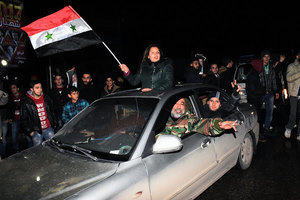 敘利亞收復阿勒頗 六年內戰告一段落