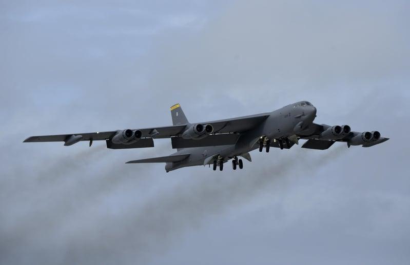 美軍戰略轟炸機 橫越印亞太