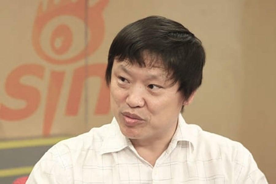 《環球時報》總編輯胡錫進。(網絡圖片)