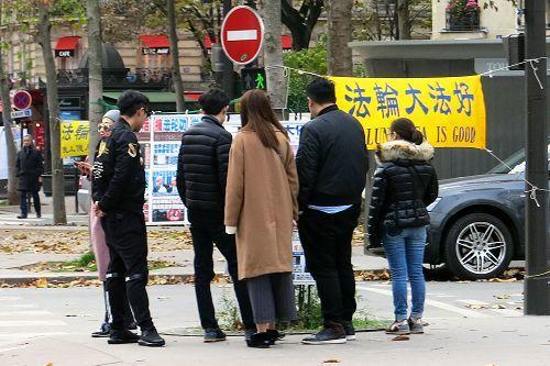 中國遊客:法輪功是我們民族的希望