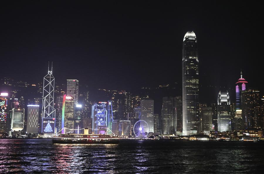港聖誕燈飾顯浪漫 六大景點吸眼球