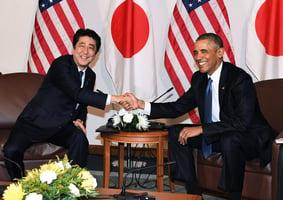 象徵二戰和解 安倍奧巴馬同悼珍珠港