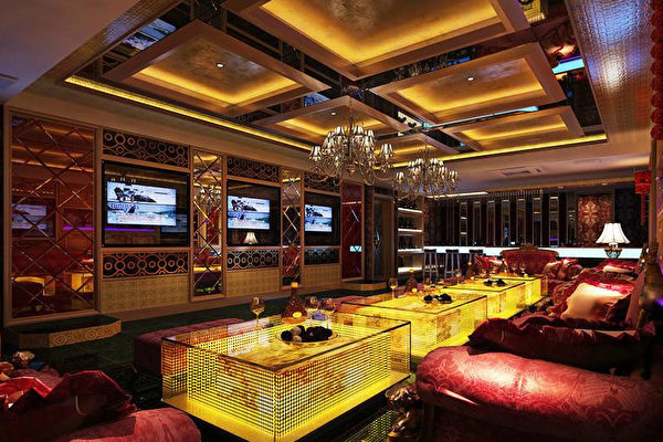 圖為北京的保利俱樂部,堪比此前被查封的「天上人間」。(網絡圖片)