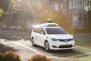 克萊斯勒與Waymo的自駕休旅車將亮相底特律車展