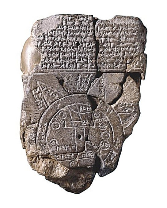黏土牌匾詳細地描述了方舟建設中所使用的材料,並指出諾亞方舟實際上是圓形的。(網絡圖片)
