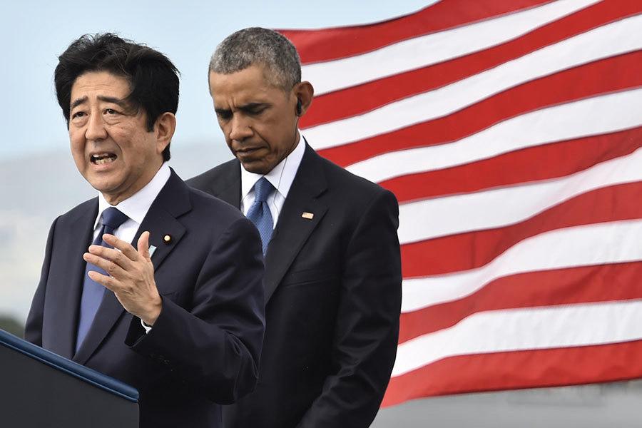 安倍訪珍珠港誓言和解 向特朗普釋信號?