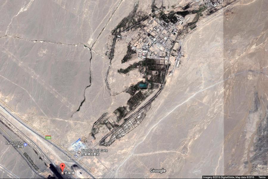 博文披露中國廢棄核基地 引起外媒關注