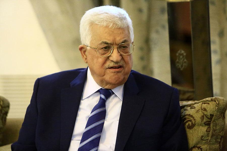 巴勒斯坦自治政府主席阿巴斯(Mahmoud Abbas)相信與以色列促成和平是可行的。(ASHRAF SHAZLY/AFP/Getty Images)