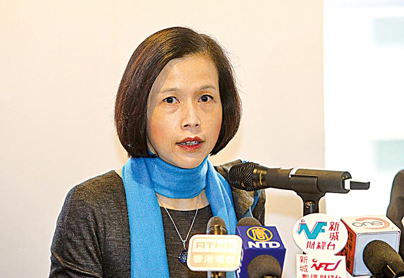 畢馬威中國香港區稅務主管合夥人劉麥嘉軒表示,為應對經濟環境重重挑戰,預期政府會提供紓緩措施以刺激經濟和就業環境。(余鋼/大紀元)
