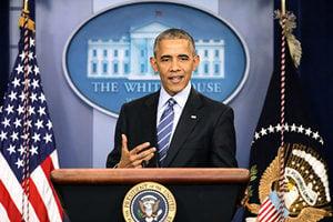 奧巴馬最後記者會:對國家對人民有信心