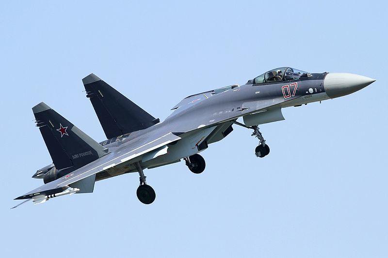 圖為蘇-35戰機。(維基百科)