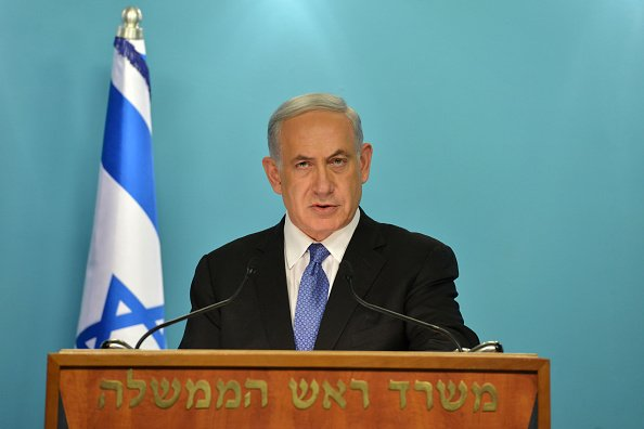 以色列總理內塔尼亞胡(Benjamin Netanyahu)盼早日與美國的新總統特朗普見面,加強同盟關係。(Kobi Gideon /GPO via Getty Images)