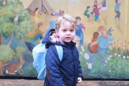 王室親戚:喬治王子口齒伶俐說話早