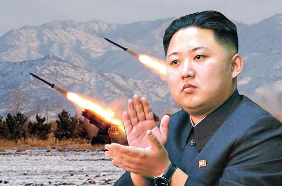 針對北韓金正恩稱即將試射可攻擊美國的洲際彈道導彈一事,特朗普回應:「門都沒有」,並多次表示責任在中共。(網絡圖片)