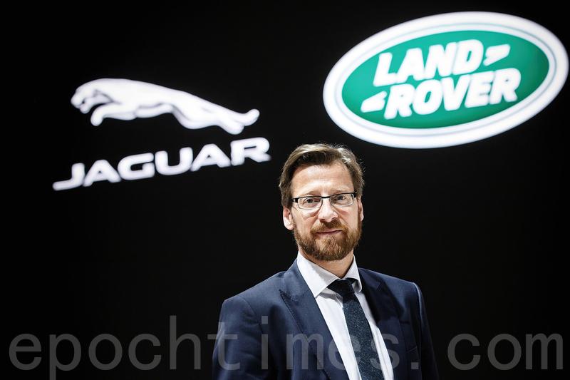 Jaguar Land Rover加拿大總裁Wolfgang Hoffmann。(大紀元)